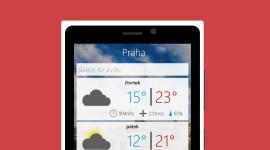 Vyzkoušejte Sunshine, novou českou předpověď počasí pro Windows Phone
