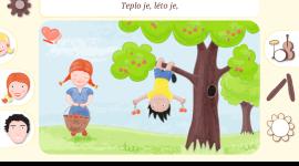 Česká aplikace - Hravé písničky pro děti [Android]