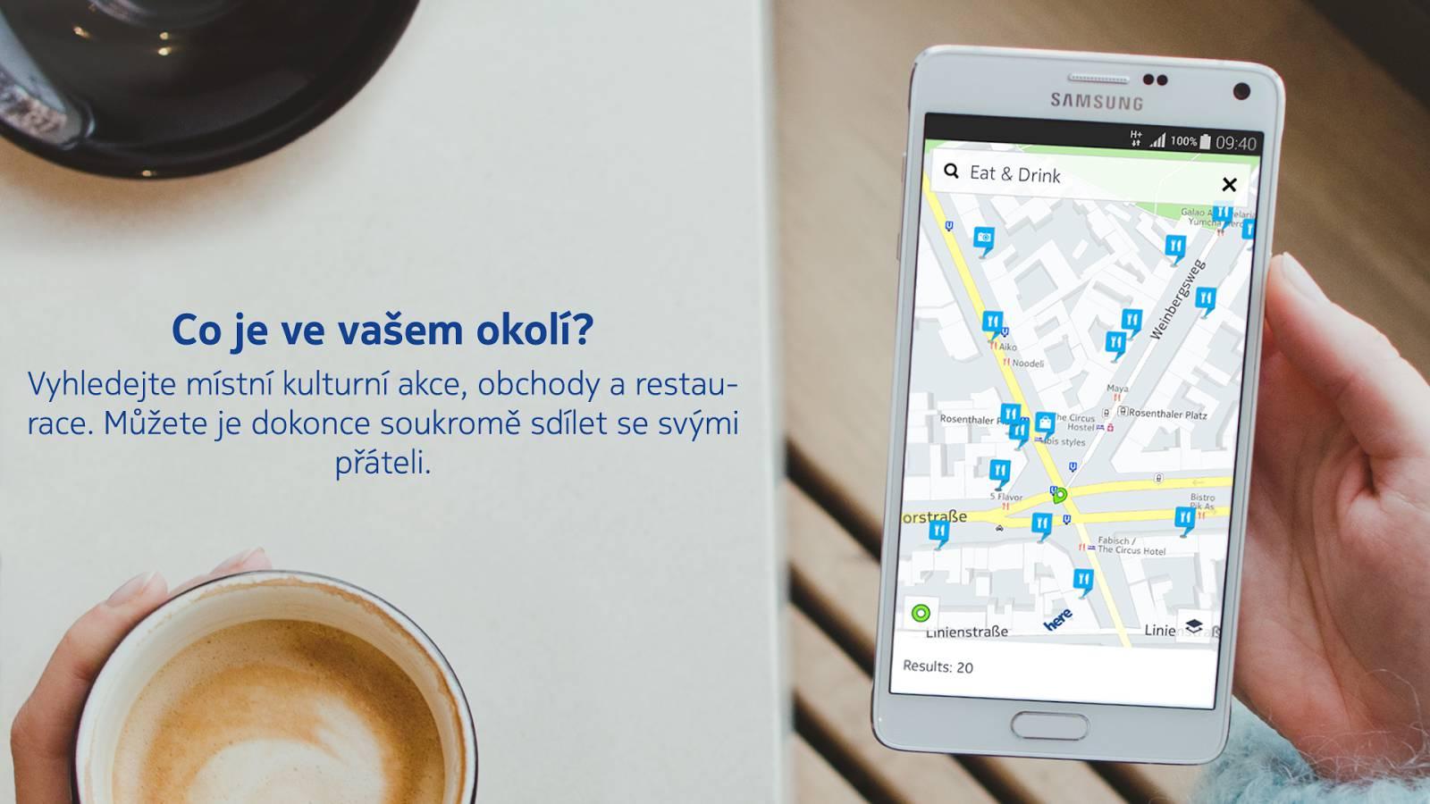 Nokia HERE Beta pro Android v Obchodě Play [aktualizováno]