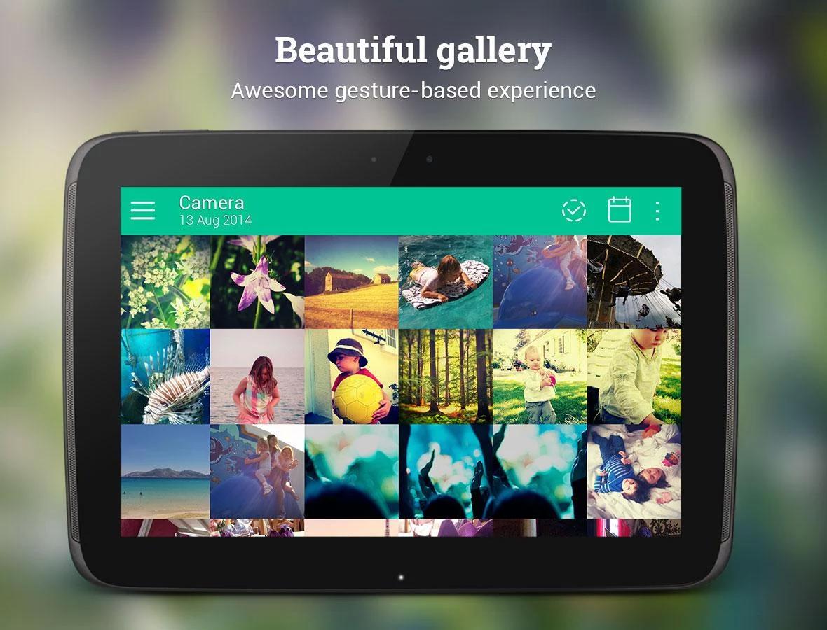 Galerie pro Android v Material designu – Piktures