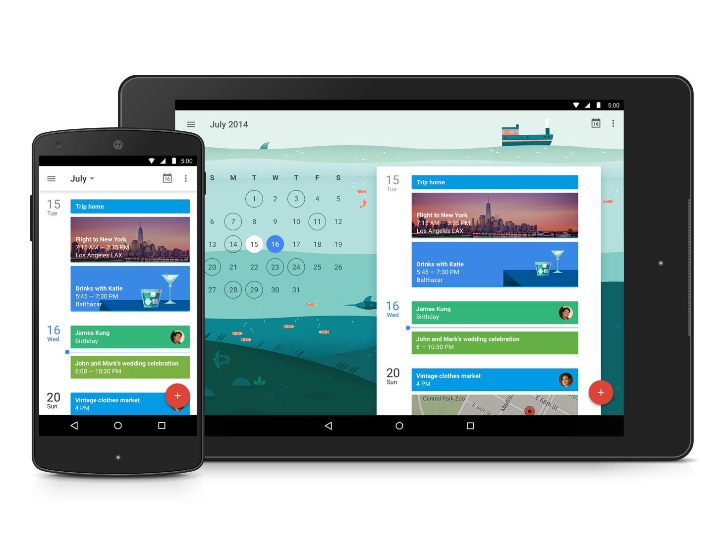 Kalendář Google – nová verze s Material Designem [apk, aktualizováno]