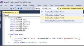 Microsoft Visual Studio 2015 přijde s podporou Androidu
