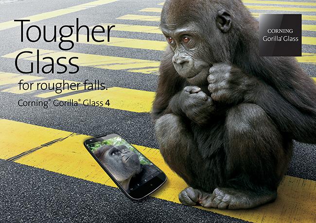 Corning představil Gorilla Glass 4