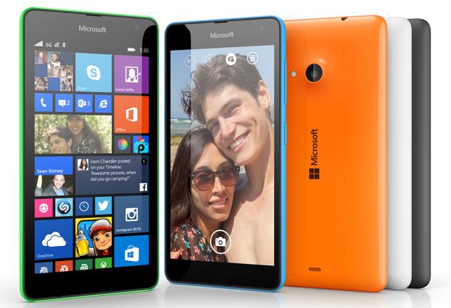 Microsoft Lumia 535 – první z nové řady