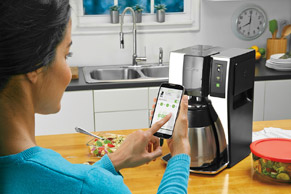 Mr. Coffee 10 Cup Smart Optimal Brew Coffeemaker MeWo (5)