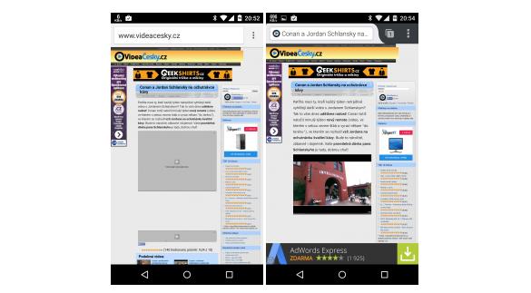 Adobe Flash na Androidu 5.0 pomocí FlashFox [webový prohlížeč]