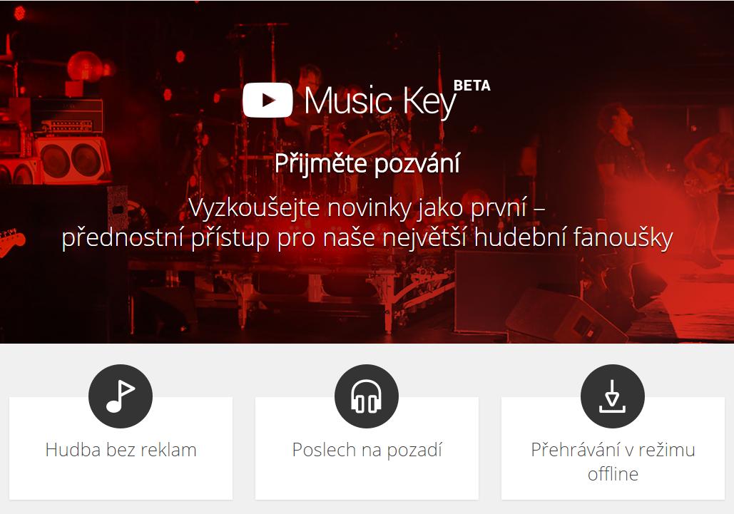 Youtube Music Key – bez reklam, na pozadí nebo i offline [omezeně, aktualizováno]