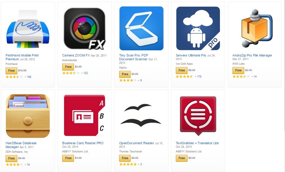 Amazon rozdává aplikace v hodnotě 1800 Kč