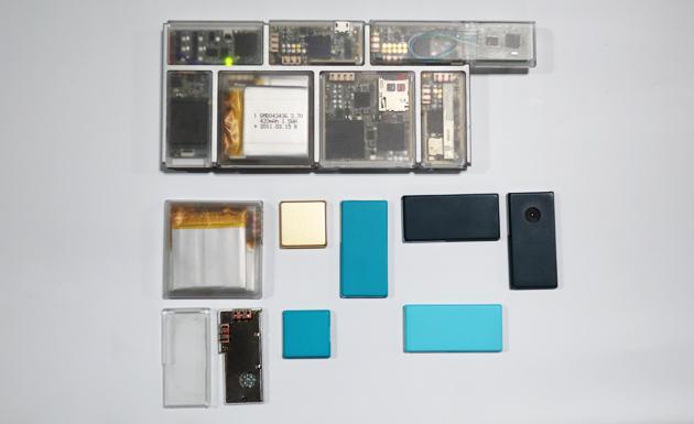 Google ARA – Byl ukázán funkční prototyp modulárního telefonu