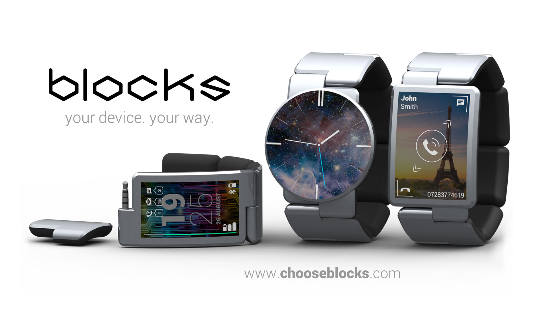 Modulární hodinky BLOCKS – pokroky při vývoji prototypu