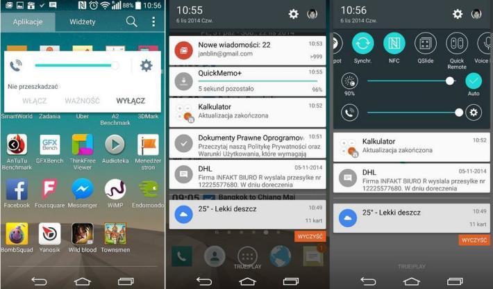 První snímky Androidu 5.0 v podání LG