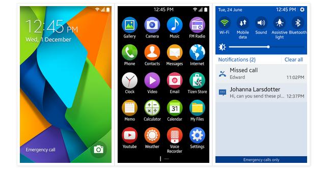 Samsung ukázal nový Tizen 2.3
