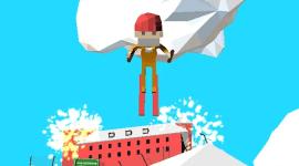 Zábavný útěk před policií na lyžích [iOS, Android]
