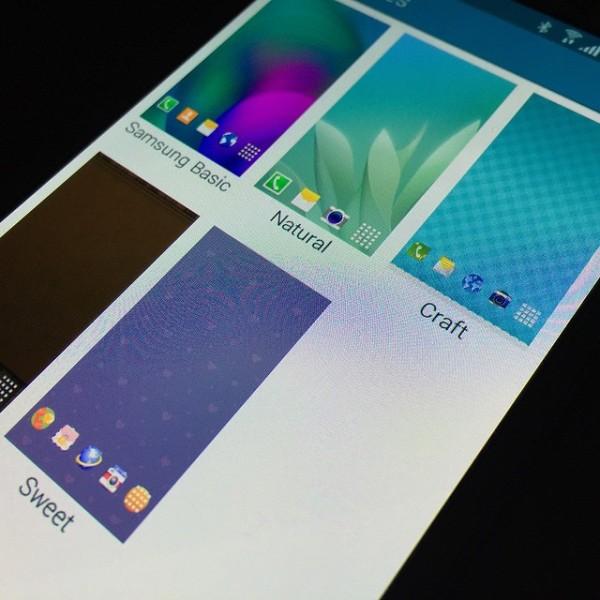 TouchWiz umožní měnit témata