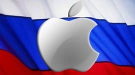 Apple zastavil online prodej v Rusku