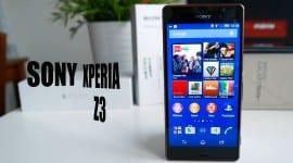 Sony Xperia Z3 – videorecenze