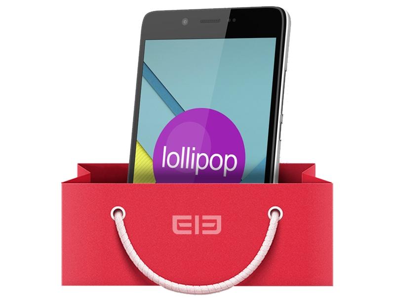 Elephone P6000 s Lollipopem v základu