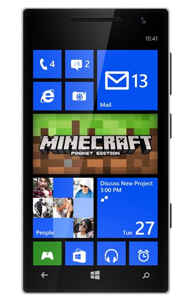 Minecraft je nově dostupný pro Windows Phone