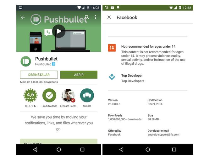 Obchod Google Play bude zobrazovat doporučený věk u aplikací