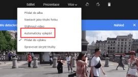 Google+ vylepší vaše videa