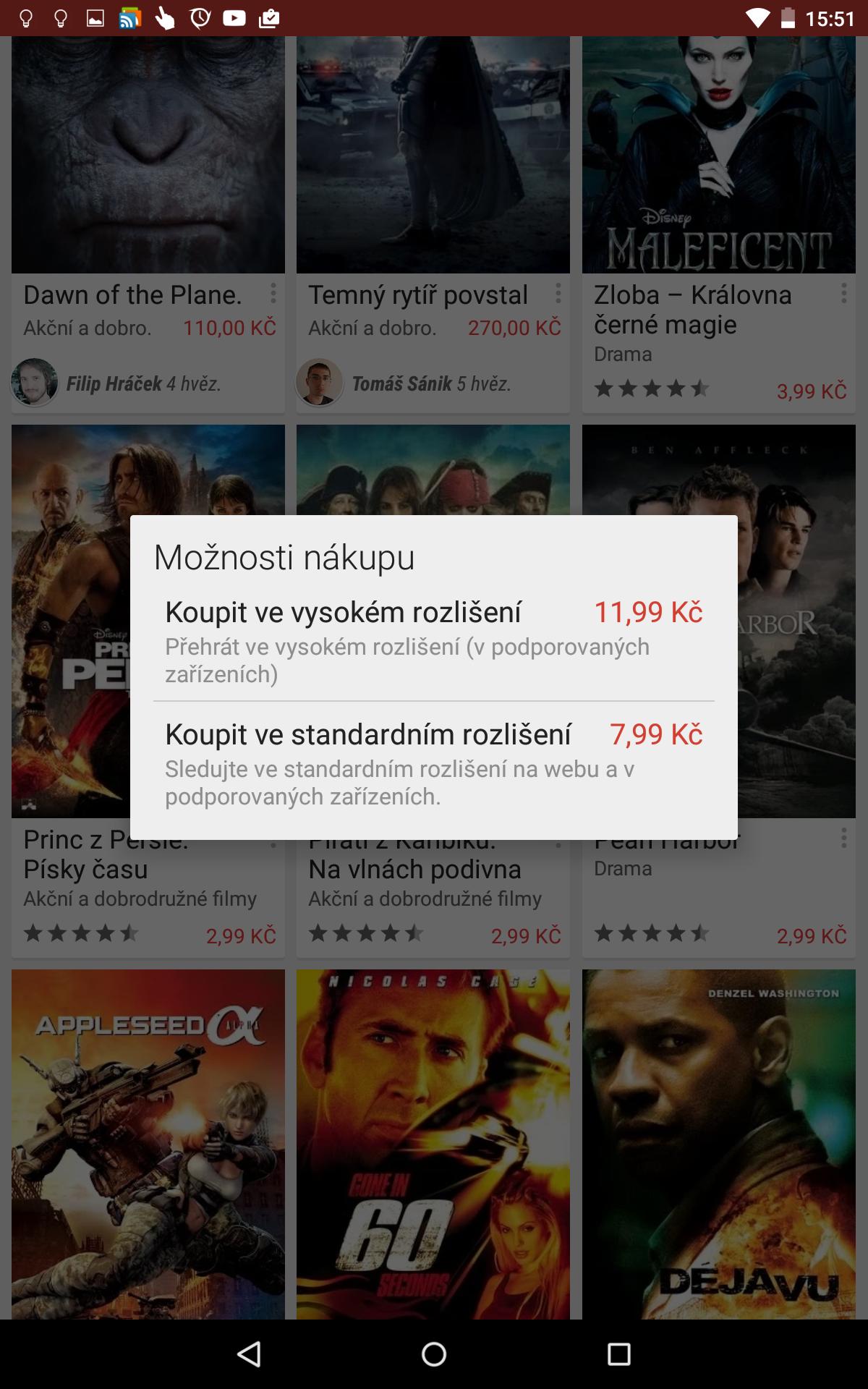 Google Play Filmy – akce nebo jen chyba? Filmy za pár korun [aktualizováno]
