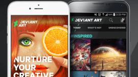 Nová oficiální aplikace DeviantArt