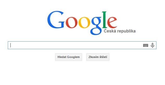Česká republika v roce 2014 podle Googlu