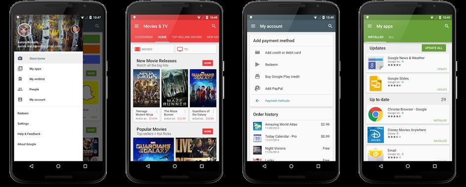 Google aktualizoval aplikace pro Android [aktualizováno]
