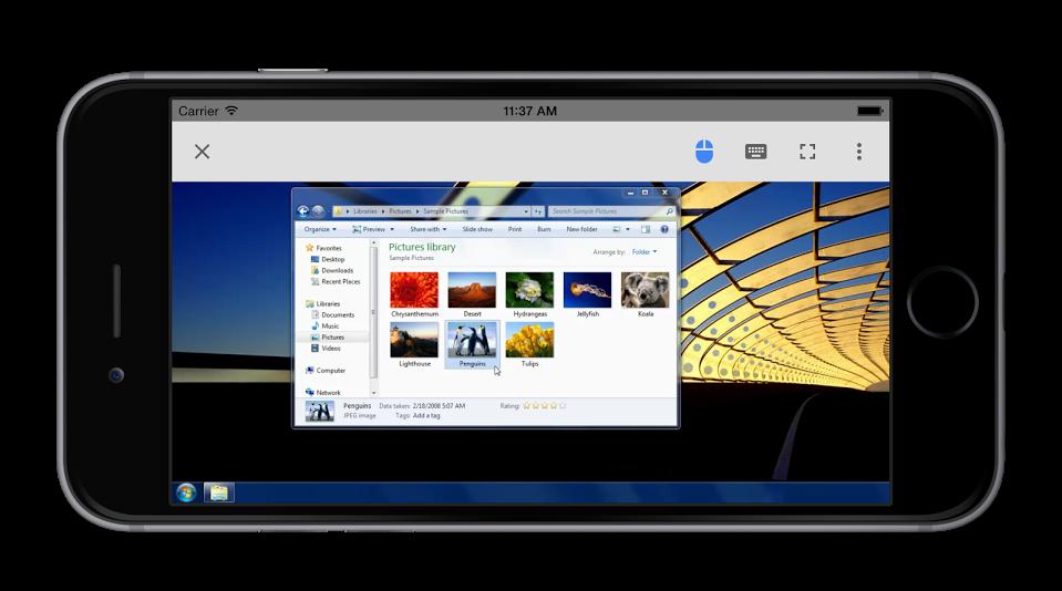 Vzdálená plocha Chrome už i pro iOS
