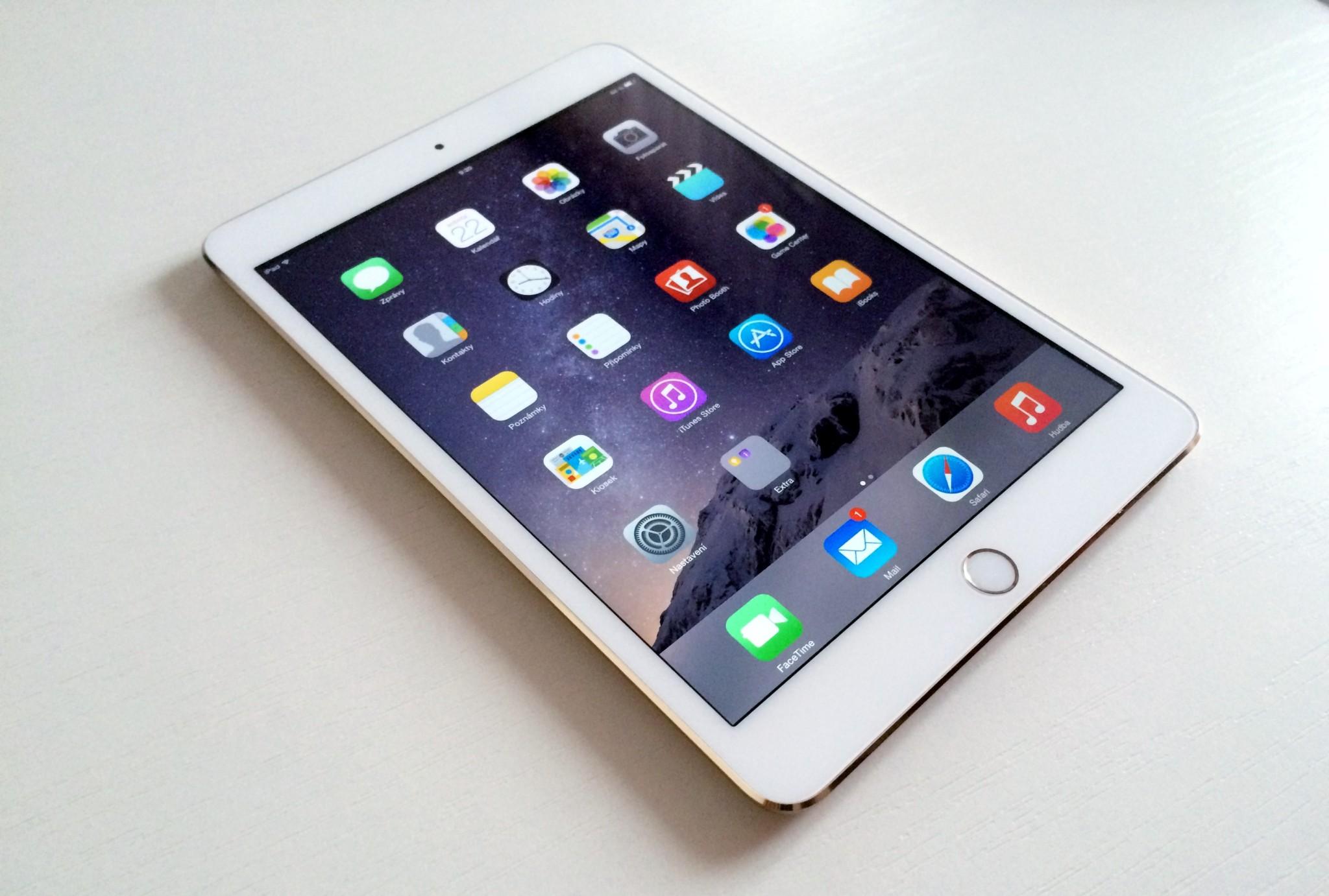 Apple iPad mini 3 – zlatý předchůdce [recenze]