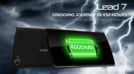 Leagoo Lead 7 se 4 500mAh baterií