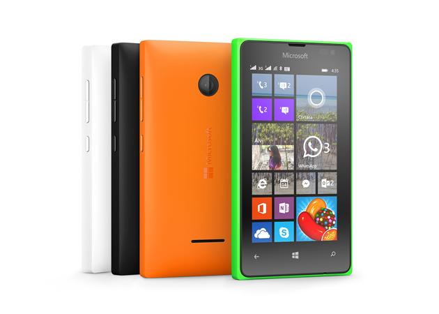 Microsoft představil levné telefony Lumia 435 a Lumia 532