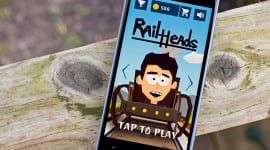Rail Heads – vydržte co nejdéle na dráze [Android, iOS, Windows Phone]