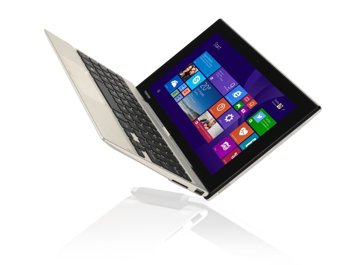 Toshiba uvedla tablet/notebook Satellite Click Mini