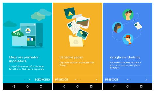 Google Classroom – nová aplikace v obchodech Play a AppStore