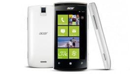 Acer v březnu představí telefony s Windows Phone