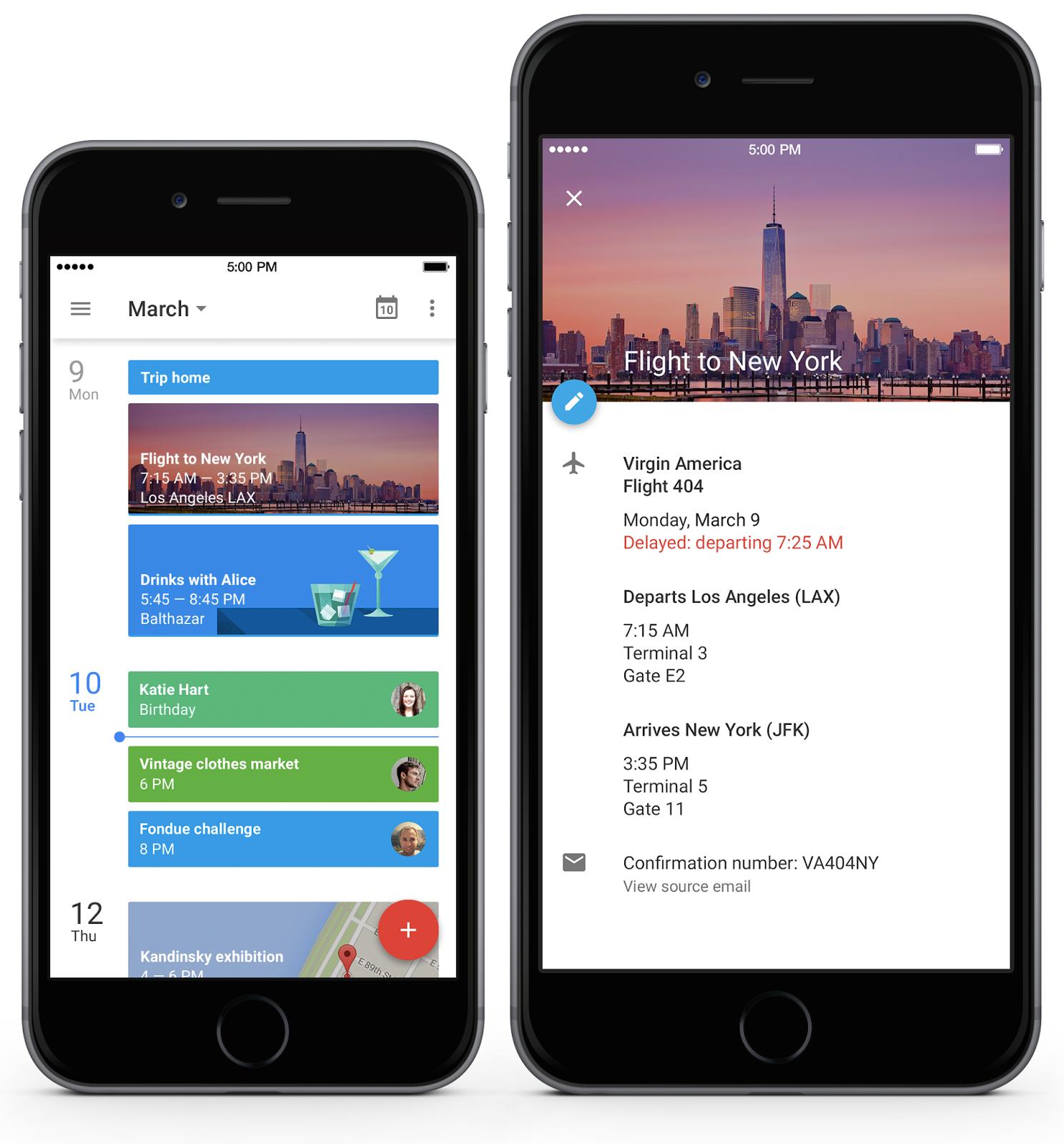 Oficiálně – Google Kalendář pro iOS [aktualizováno]