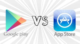 Apple AppStore vs. Google Play – souboj není vyrovnaný