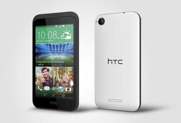 HTC oznámilo cenově dostupnější model Desire 320 se čtyřjádrovým procesorem