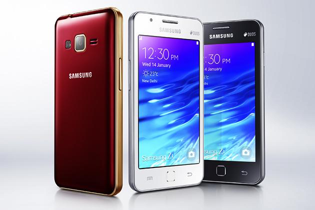 První smartphone Samsung Z1 s Tizenem představen pro indický trh