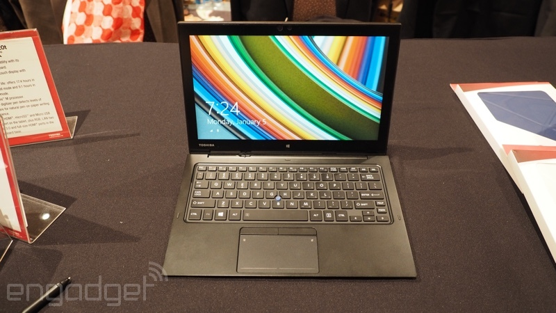 Toshiba představila konkurenta pro Surface Pro 3