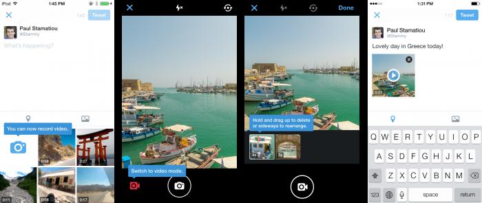 Twitter podporuje skupinou konverzaci a možnost sdílení videí