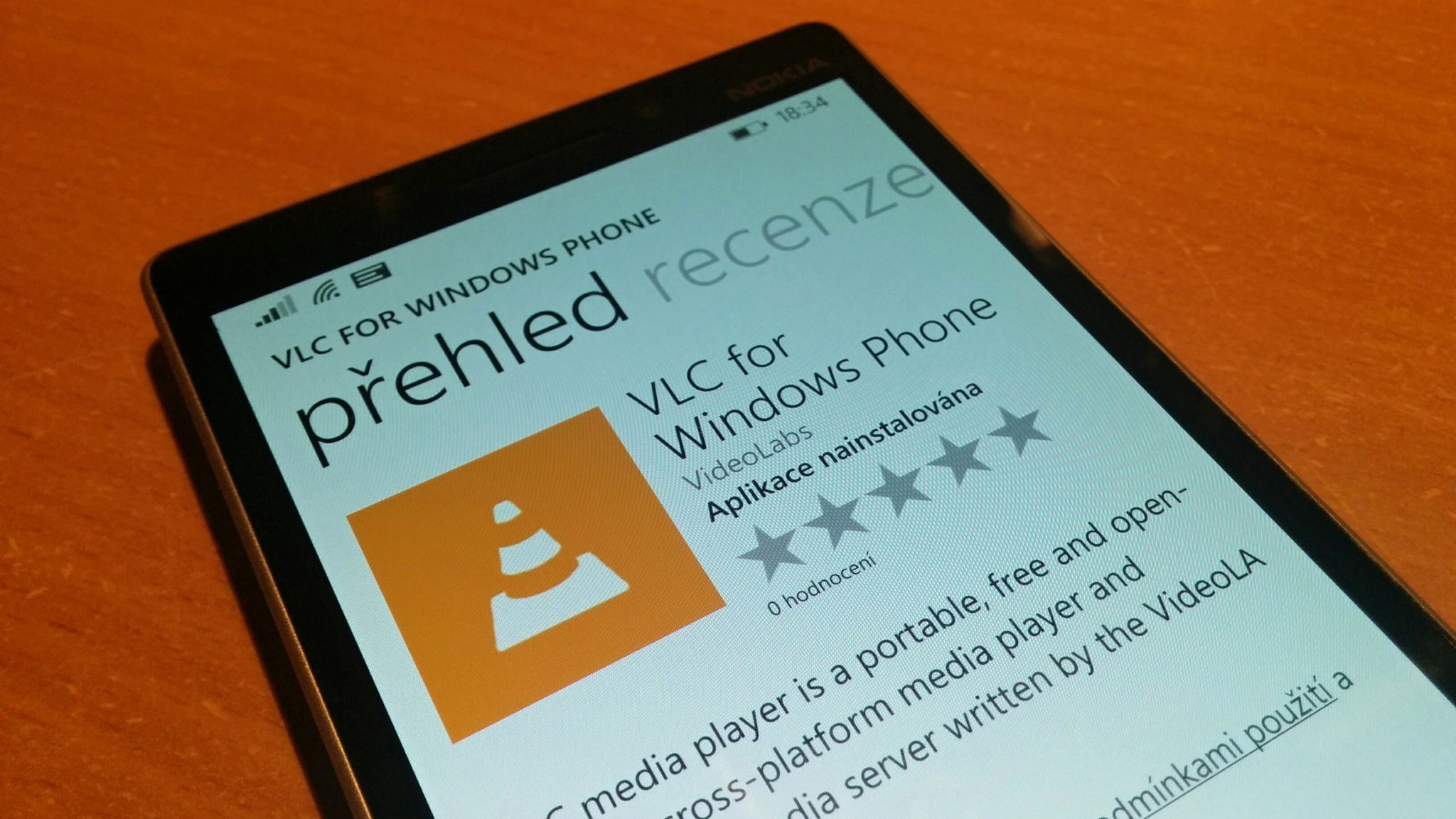 Přehrávač VLC pro Windows Phone je konečně dostupný ke stažení