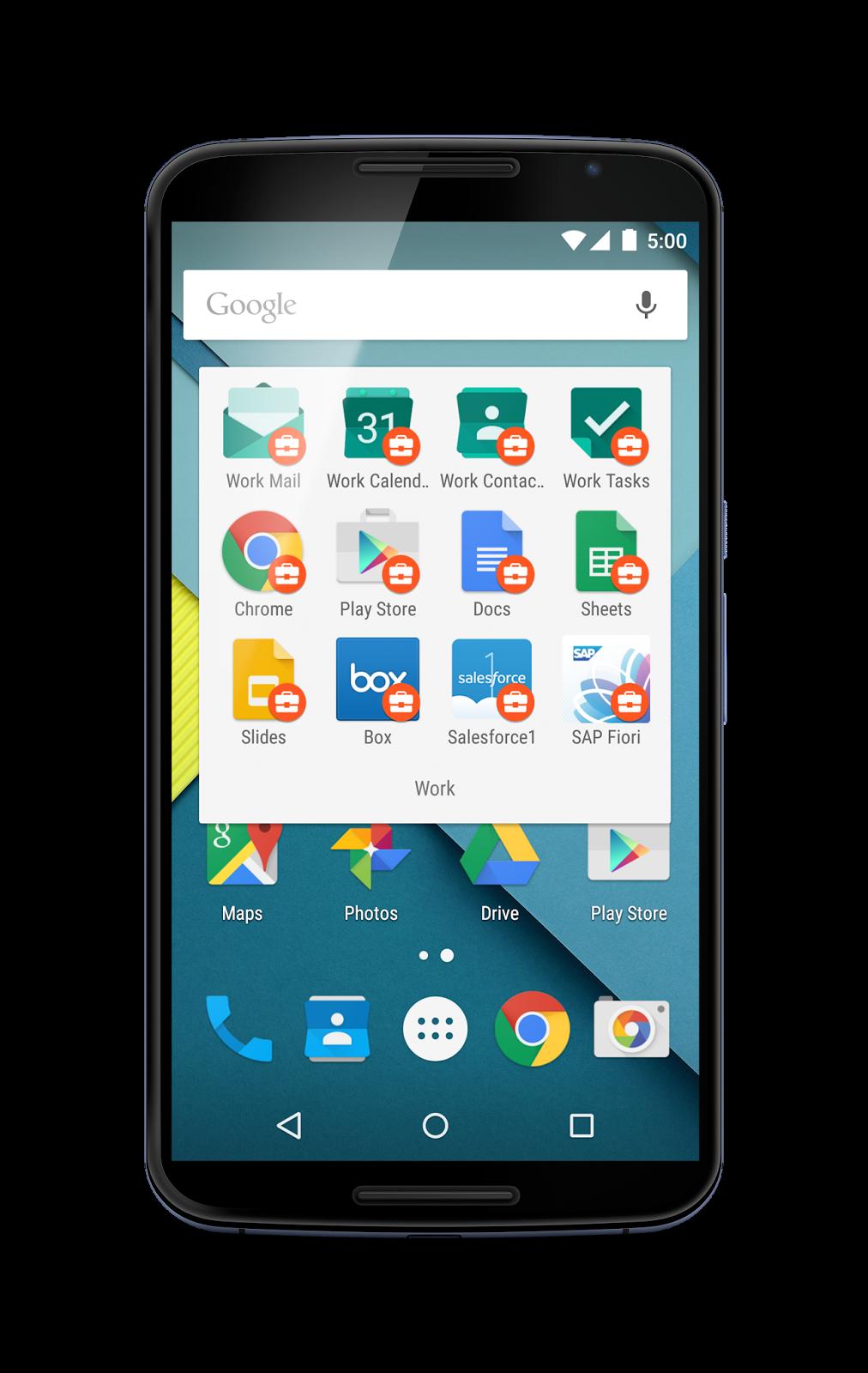 Android pro Práci – práce na Androidu lepší a lehčí než kdy dříve