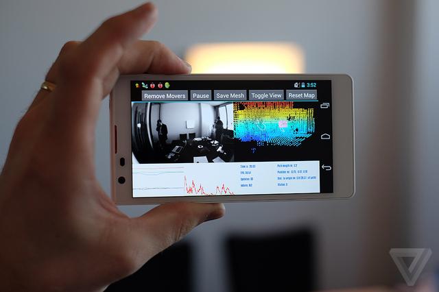 Google Tango Tablet – lepší dostupnost [aktualizováno]