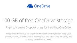 Získejte 100 GB navíc pro OneDrive