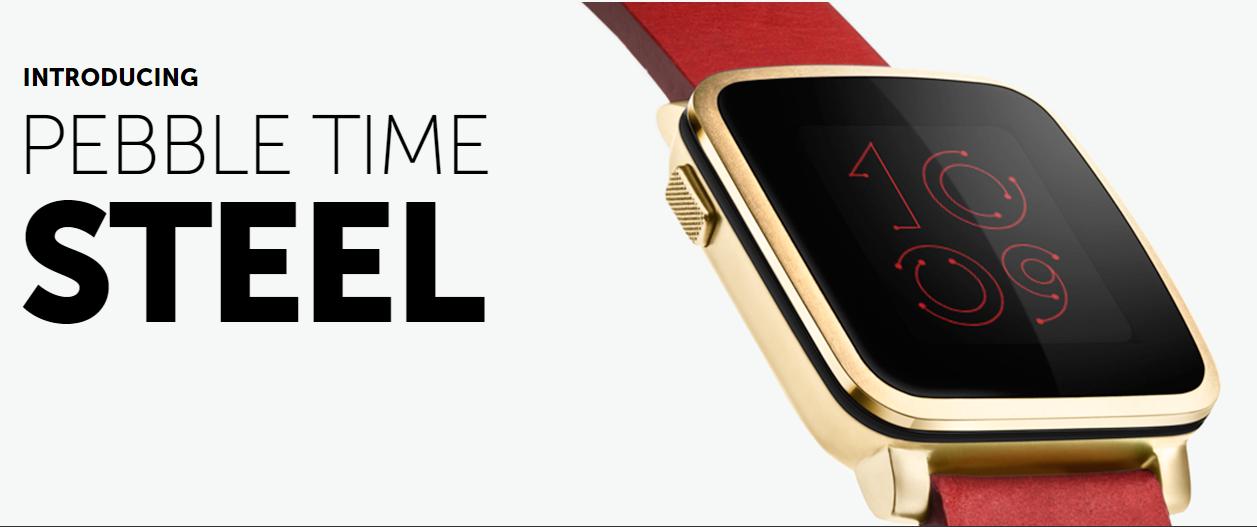 Pebble Time (Steel) – kampaň skončila [Aktualizováno]