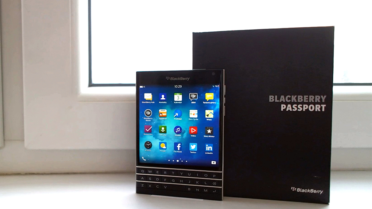 BlackBerry Passport – videopohled