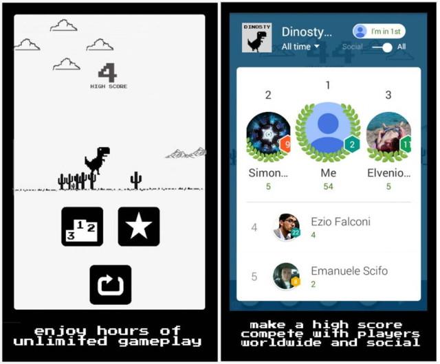 Google Chrome Easter Egg je nyní dostupný jako hra v Obchodě Play [neoficiálně]
