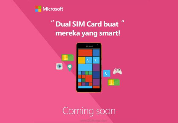 Indonéský Microsoft odhaluje Lumii 1330 na Facebooku